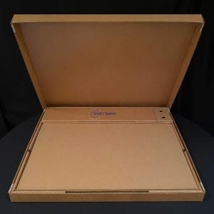 Main Box, Open with Acrylic Sheets - Smart Spacers™