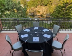 Smart Spacer® Table Dividers for Round Tables