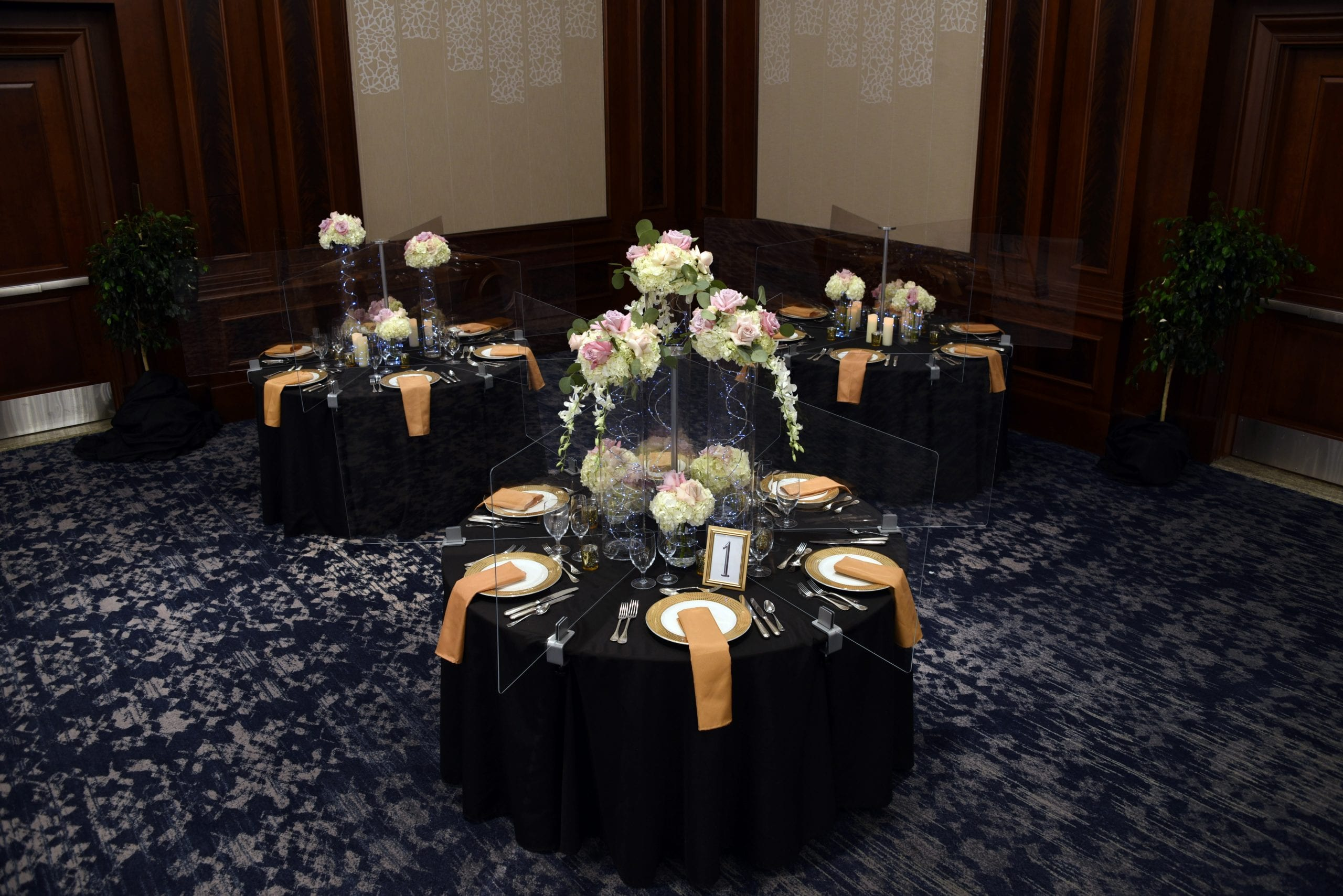 Wedding Example, 3 Tables