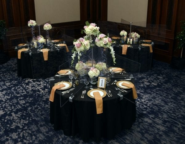 Wedding Example, 3 Tables - Smart Spacers™
