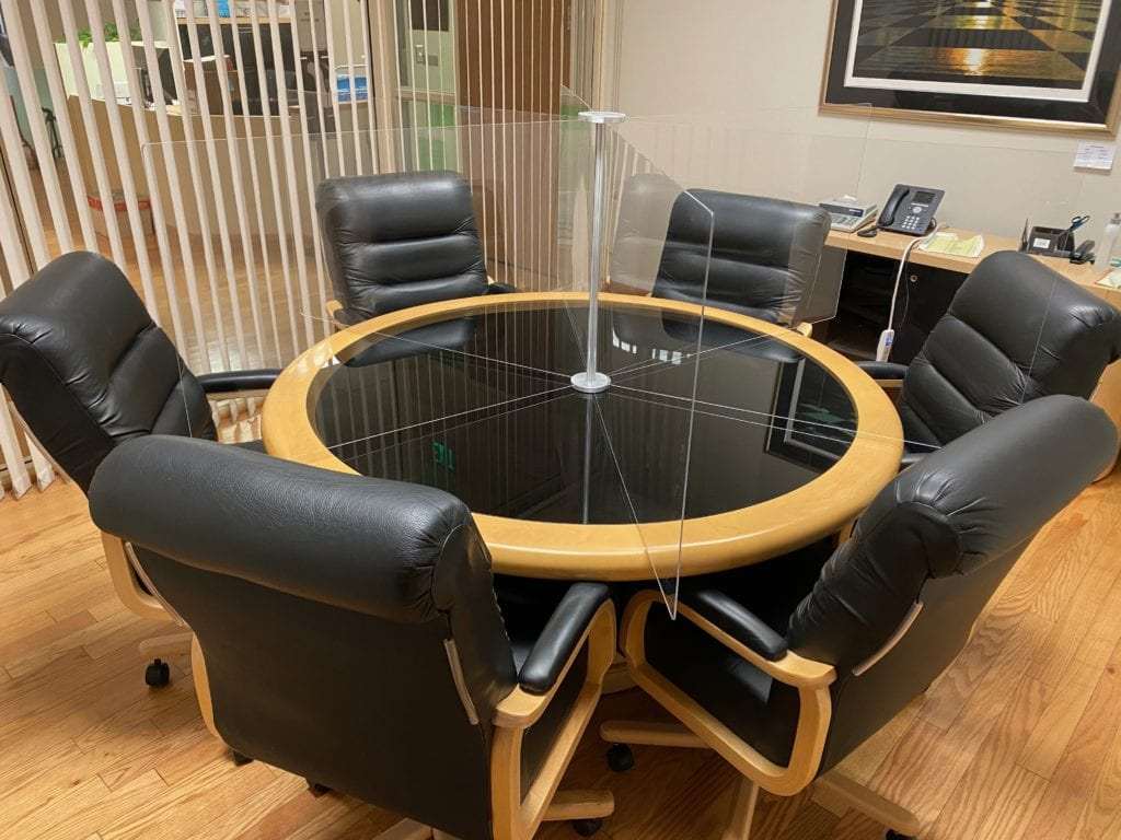 Round Conference Table, 6 Person