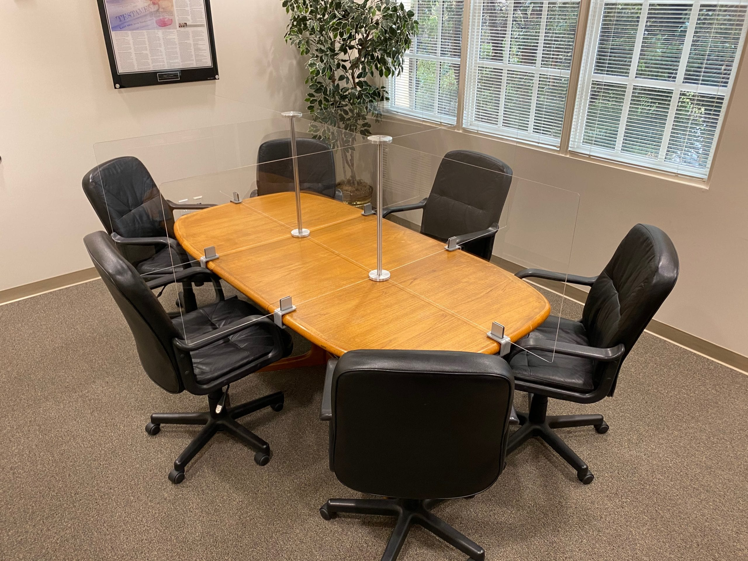 6 Person, Medium Chair, Conference Table