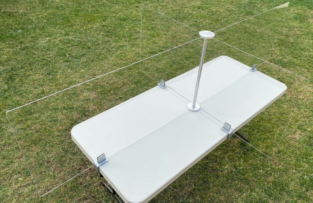 6 Foot Table, 4 Person - Overview