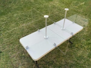 6 Foot Table, 6 Person - Overview